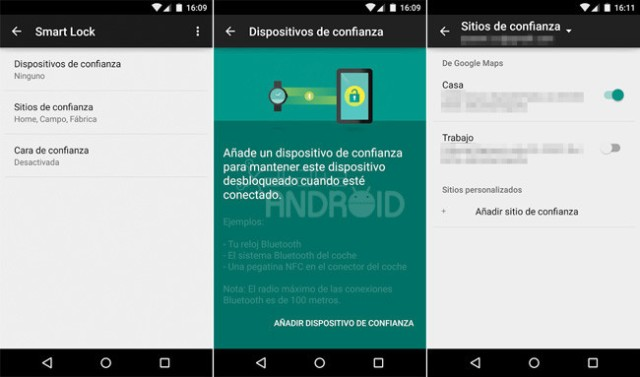 Dispositivo de confianza-Android-5.0